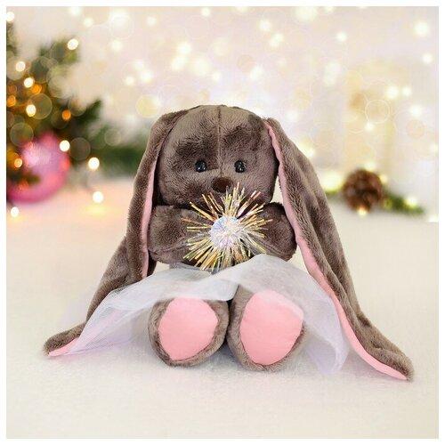 Зайки Li&Lu Мягкая игрушка «Снежинка Li», зайка