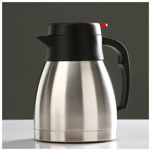 Фото - Термос-кофейник Ларна 1,2 л, сохраняет тепло 8 ч, 16.5х18.5 см термос колумб 4 л сохраняет тепло 24 ч 15х39 8 хром 5256200