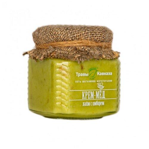 Крем мед лайм и имбирь