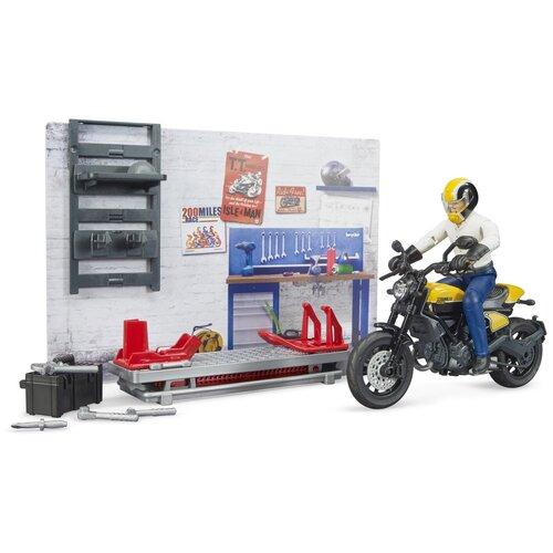 Купить Bruder Брудер Ремонтный набор с жёлтым Ducati 62-102 с 3 до 7 лет, Игровые наборы и фигурки