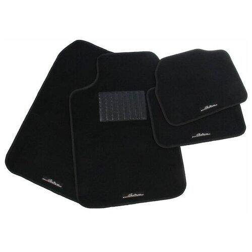 Коврики автомобильные универсальные Nova Bright, ACM-CM-05, черные, набор 4 шт