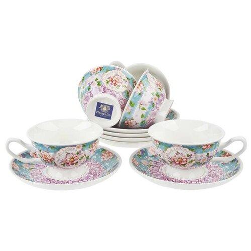 Nouvelle Чайный сервиз Nouvelle Цветочные кружева 12 предметов M0661146
