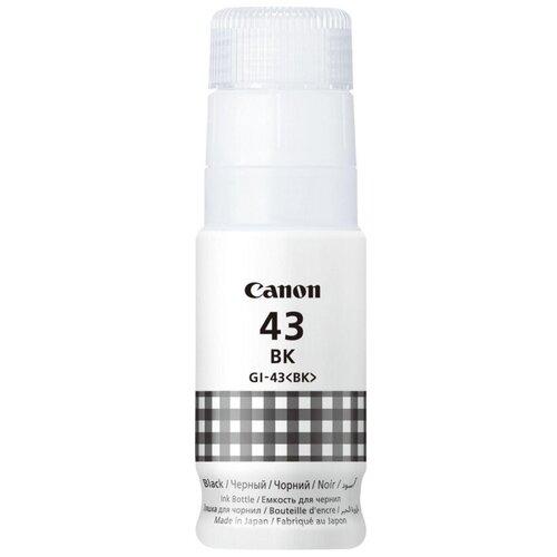 Фото - Картридж струйный Canon GI-43 BK EMB 4698C001 черный для Canon G640/540 картридж струйный canon gi 40 bk 3385c001 черный 170мл для canon pixma g5040 g6040