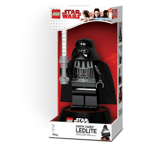 Фонарь-игрушка LEGO Star Wars. Darth Vader, на подставке ночники lego игрушка минифигура фонарь star wars штормтрупер