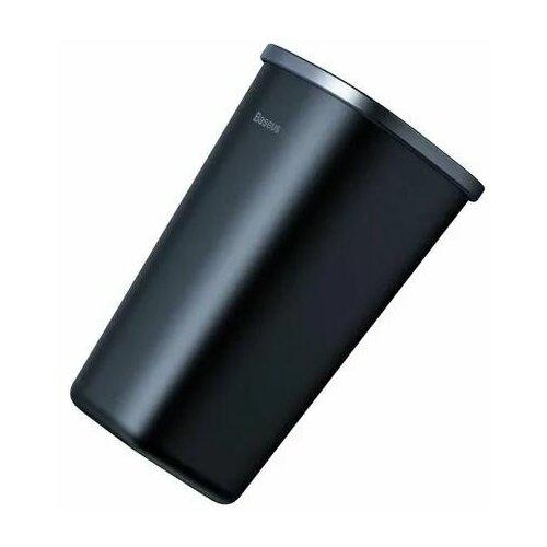 Автомобильный контейнер для мусора Dust-free Vehicle-mounted Trash Can черный Baseus