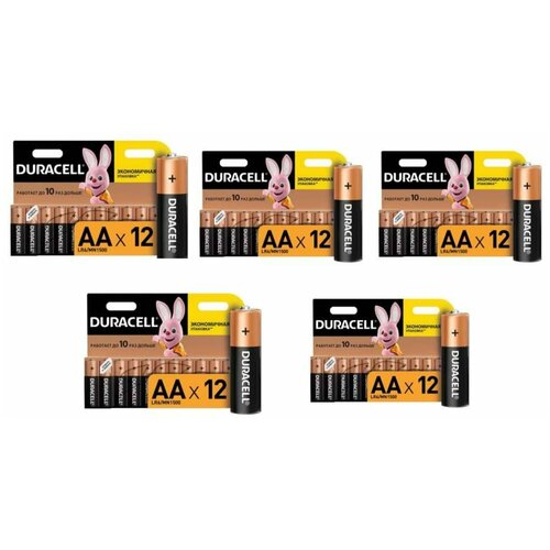 Фото - Батарейки Duracell размера AA 60 шт батарейки duracell размера aa 60 шт