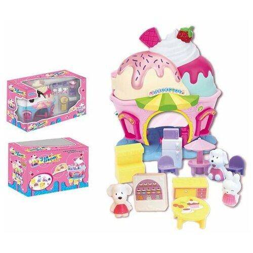 Фото - Игровой набор Наша Игрушка Кукольный домик, 13 предметов, коробка (200366641) кукольные домики и мебель наша игрушка игровой набор кукольный домик 12 предметов
