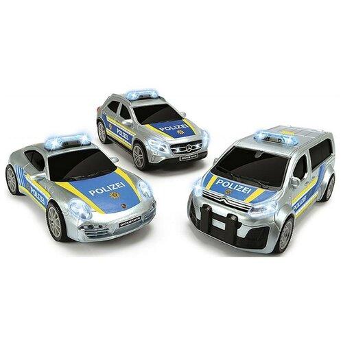 Купить Полицейская машина Dickie, фрикционная, 15 см, свет, звук, 3712014, Dickie Toys, Машинки и техника