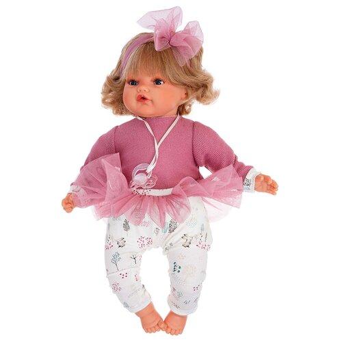 Antoniojuan Juan Antonio Кукла Антонио Хуан (Munecas Antonio Juan) Лорена в розовом, плачущая (42 см)