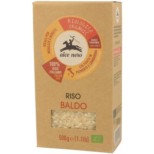 био оливки зеленые bella di cerignola alce nero 350 г Alce Nero Рис Baldo белый, упаковка 500 г