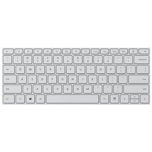 Клавиатура Microsoft Bluetooth Сompact keyboard, белый [21Y-00041