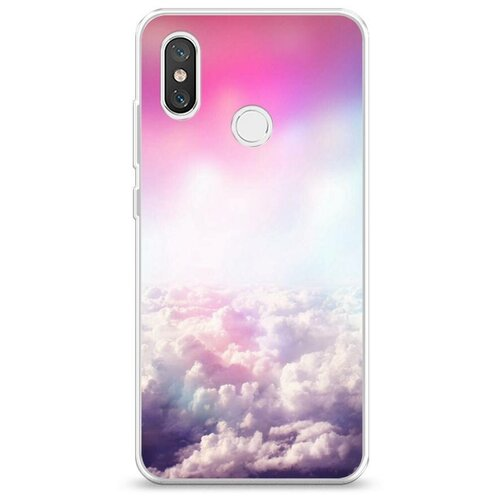 Чехол Силиконовый Xiaomi Mi 8 Постельные облака