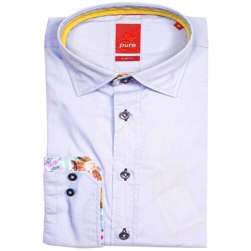 Рубашка pure размер S голубой
