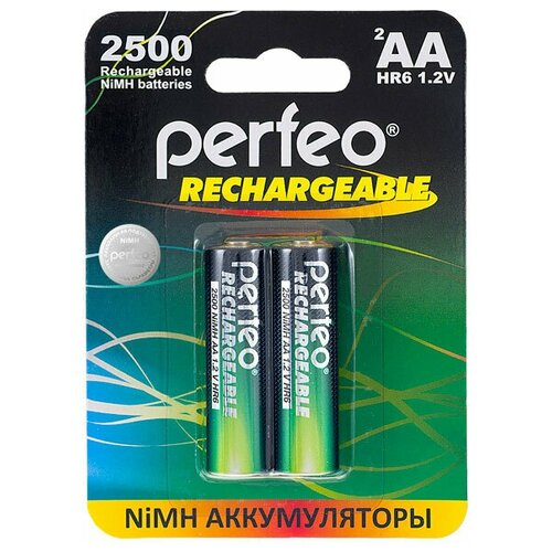 Фото - Аккумулятор Perfeo AA2500mAh/2шт аккумулятор perfeo aa2500mah 2шт