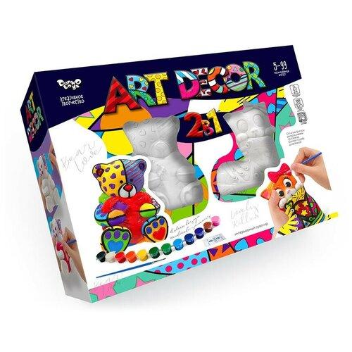 Набор креативного творчества «Сувенирная лавка»Мишка и Лиса Данко-Тойс ARTD-02-01