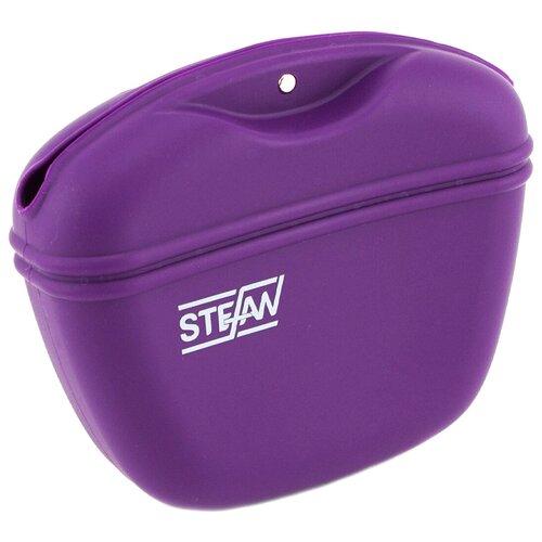 Сумочка для лакомств силиконовая STEFAN, фиолетовый, WF37714 stefan pätzold bochum