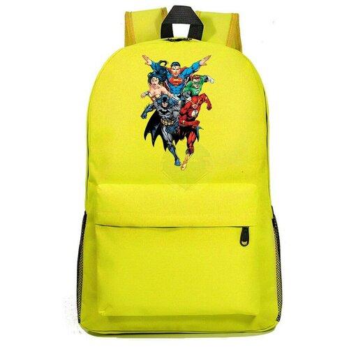 Рюкзак DC желтый №2