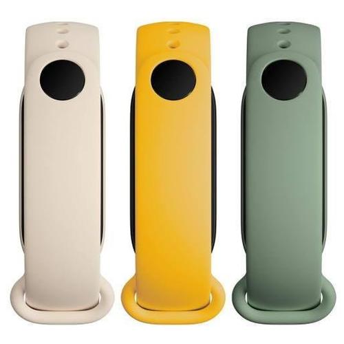 Xiaomi Mi Smart Band 6 Strap(3 pack) Ivory/Olive/Yellow (RU)