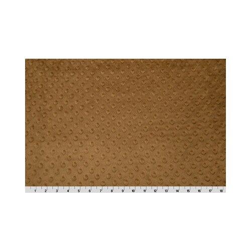 Плюш Peppy 48*48 см, 455 г/м2, 100% полиэстер, mocha (CUDDLE DIMPLE) недорого