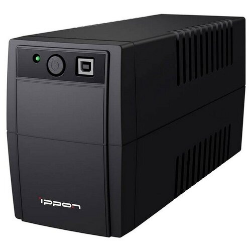 ИБП Ippon Back Basic 650 650ВА 360Вт IEC(3) черный
