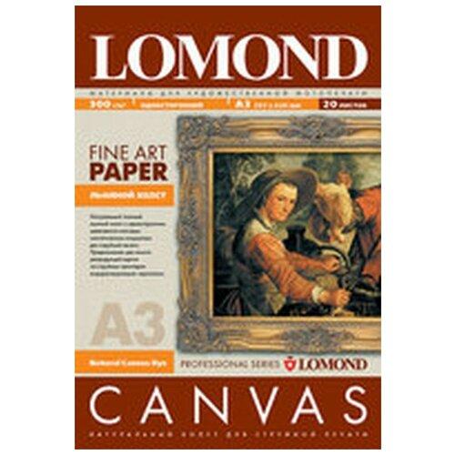 Фото - Холст Lomond 0908332 натуральный хлопковый, ярко-белый, А3, 340 г/м2, 20 листов printio хлопковый рюкзак эмонг ас
