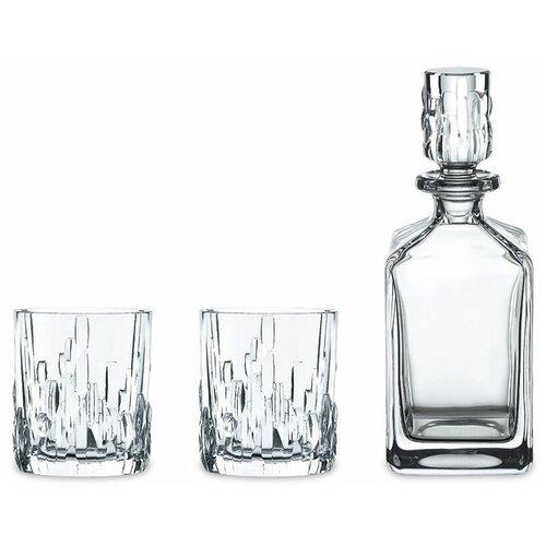 Фото - Набор для виски 3 предмета декантер 750 мл + 2 стакана 330 мл Nachtmann Shu Fa 101040 набор мини кружек nachtmann 2 предмета 250 мл 98855