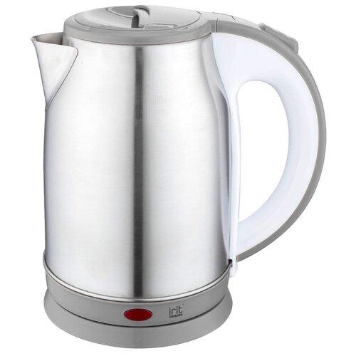 Фото - Чайник irit IR-1361, серый чайник irit ir 1603 белый желтый