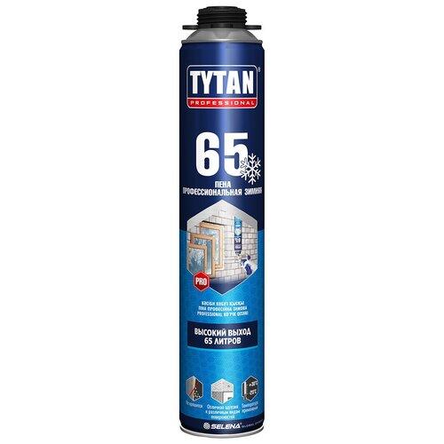 Пена монтажная TYTAN PROFESSIONAL 65 профи О2 750 МЛ зимняя -20 градусов (12/672) пена пистолетная tytan gun профи о2 750 мл 12 672