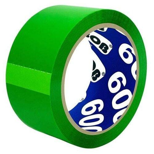 Фото - Клейкая лента (скотч) упаковочная Unibob 600 (48мм x 66м, 45мкм, зеленая) (30488) клейкая лента коричневая unibob 48мм 66м 45мкм 6 шт в упаковке