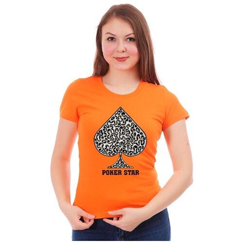 Футболка Drabs, размер M, оранжевый
