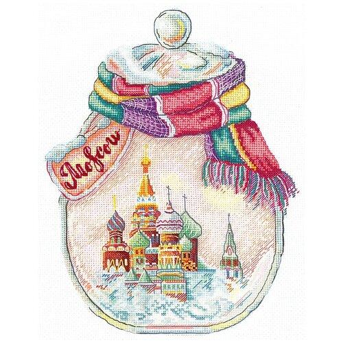Фото - Набор для вышивания крестиком Сделай своими руками Города в банках, Москва (№144) крейс в а закладка фундамента своими руками