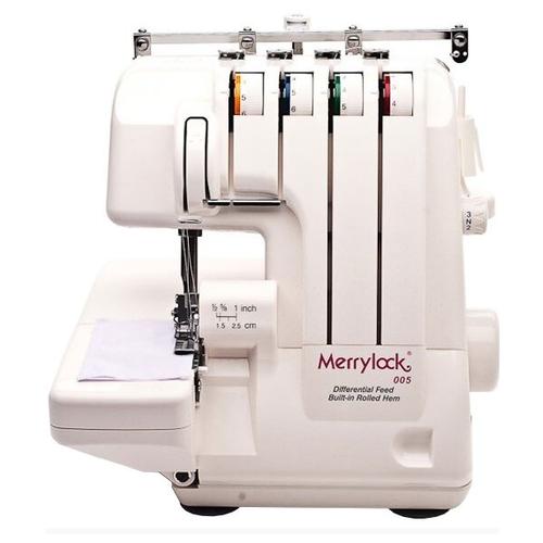 Фото - Оверлок Merrylock 005 (4-х-ниточный) коверлок merrylock 011 белый