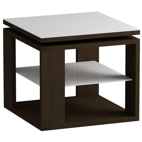 детские столы и стулья leset стол журнальный ls 747 корпус венге Стол журнальный LS 747 02.11 (корпус-венге,стекло-бел)