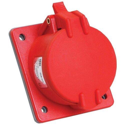 Силовые разъемы IEK Розетка СП Magnum 32А 200/346-240/415В 3P+PE+N 6ч ССИ-425 IP44 ИЭК PSN42-032-5