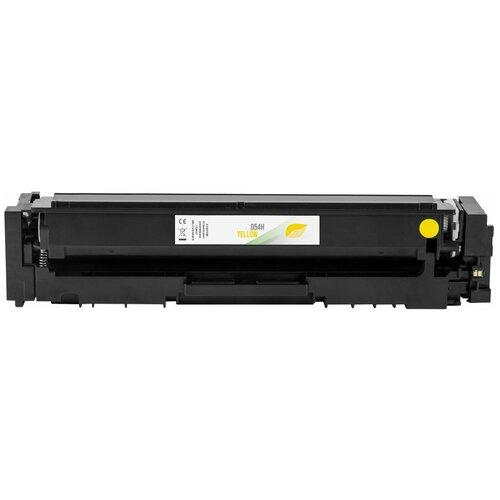 Фото - Тонер-картридж 054H Y, желтый, для лазерного принтера Canon i-SENSYS, совместимый тонер картридж 054h c 3027c002