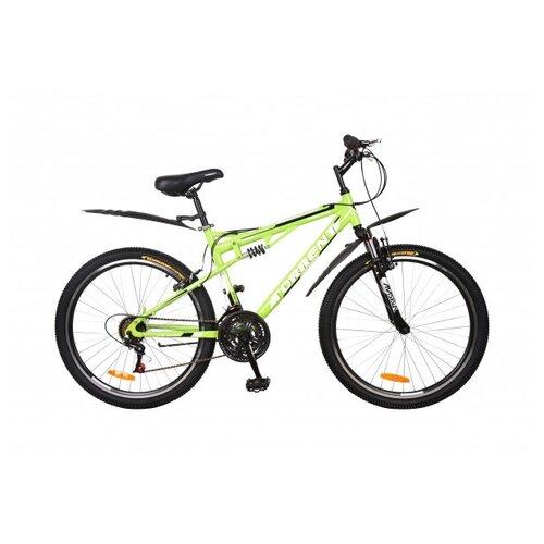 Велосипед Torrent Freestyle зеленый матовый