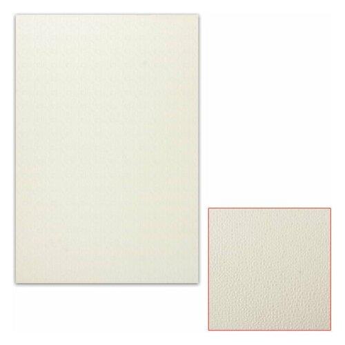 Картон белый грунтованный для масляной живописи, 35х50 см, односторонний, толщина 0,9 мм, масляный грунт