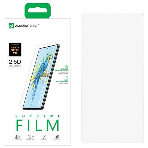 Защитная пленка для Samsung Galaxy Note 20 Amazingthing Novo Boost / противоударная пленка / гидрогелевая пленка / пленка от царапин / защита дисплея / защитная пленка для экрана / защитная пленка для дисплея / защитное покрытие для экрана / защита телефона / 3Д пленка / закругленная пленка / полное покрытие / пленка 3д / ноте 20 / ноут 20 / нот 20