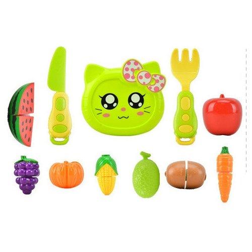 Набор посуды с продуктами Готовим вместе. Радочка-4 (11 предметов)