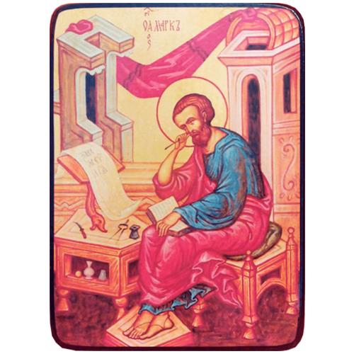 Икона Марк апостол, Евангелист, размер 19 х 27 см