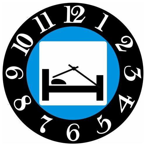SvS Настенные часы SvS 3002524 Дорожный знак Гостиница или мотель