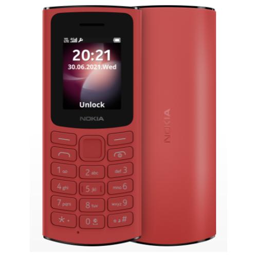 Мобильный телефон Nokia 105 DS (2021) 4G Красный