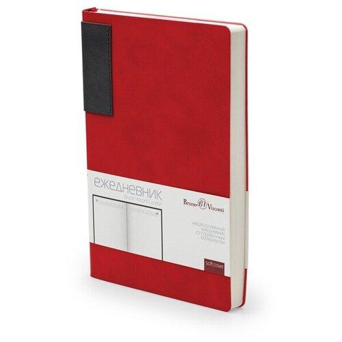 Купить Ежедневник недатированный А5 «LONDON» красный, Bruno Visconti, Ежедневники