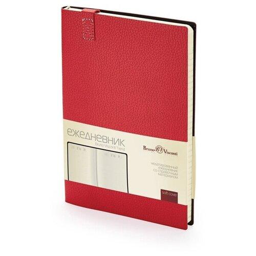 Купить Ежедневник А5 недатированный «Trend», красный, Bruno Visconti, Ежедневники
