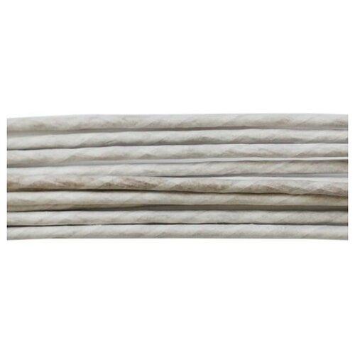 Проволока для флористики диам.3,00мм, 60 см, 10шт. Astra&Craft (белый)