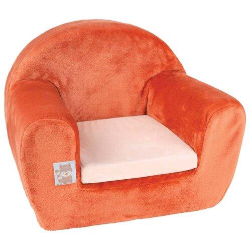 Кресло Nattou Собачка и Енот размер: 48х40 см, обивка: ткань, цвет: Jim & Bob бортики в кроватку nattou jim