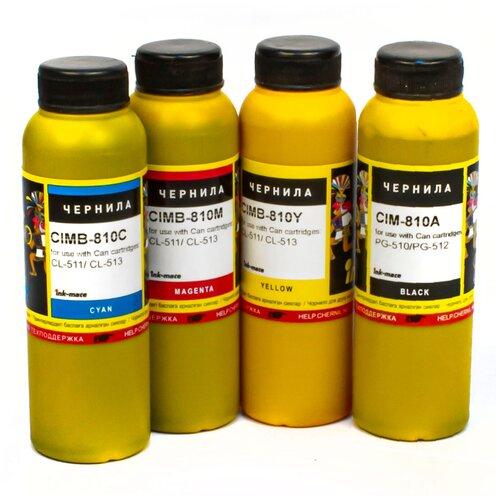 Фото - Чернила (краска) Ink-mate CIM-810 для картриджей Canon PIXMA: PG-510, PG-512, CL-511, CL-513; PG-440/445 и CL-441/446 100x4 картридж canon cl 446 8285b001