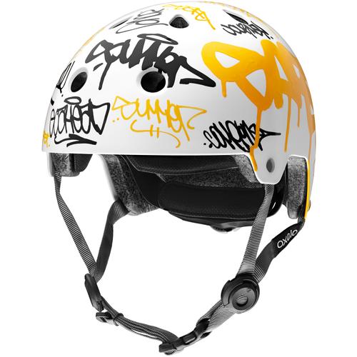 Шлем защитный Яндекс Искусство Кататься, р. S (54 - 52 см), белый/желтый/черный сумка паттерн яндекс белый черный