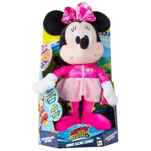 Фото - Мягкая игрушка Disney Весёлые гонки: Минни Маус (35 см, звуки, музыка) disney игрушка минни