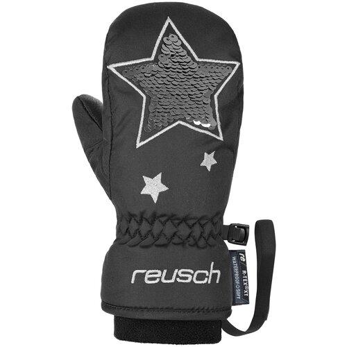 Варежки Reusch Halley R-Tex XT размер 4, 7702 black/silver